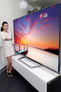 LG представи  революционен 84-инчов, 3D телевизор