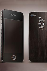 Луксозни и уникални черни диаманти в колекцията iPhone4 от Gresso