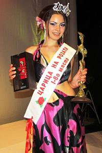 Миляна Танчева стана Царица на розите 2012 стана Царица на розите 2012