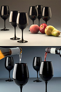 За първи път в България представят черни чаши за вино