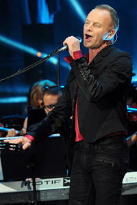 Стинг изнася концерт на 7 юни в София