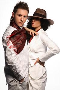 Македоският поп-фолк изпълнител Dennis засне фотосесия с топ модела и ТВ водеща  Маги Желязкова