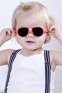 Грижа през лятото: Бебешки слънчеви очила KiETLA