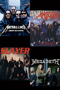 Metallica, Slayer, Megadeth и Anthrax на Sofia Rocks Powered by Sonisphere