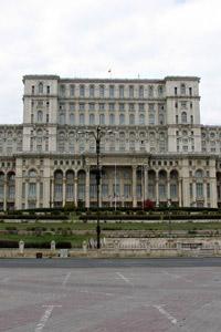 Букурещ - Дворецът на парламента