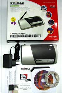 Edimax BR-6204Wg - елегантно, удобно и евтино решение за домашната мрежа