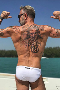 Джанлука Ваки с нова татуировка