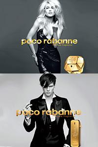 Парфюми на Paco Rabanne във флакони със златно покритие