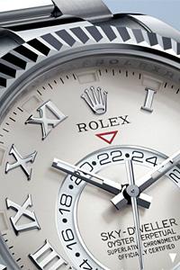 Rolex с нов модел часовник - Rolex Sky-Dweller