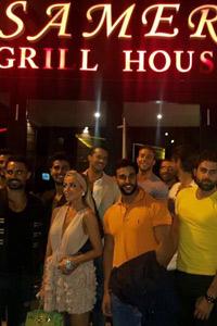 Какво похапнаха най-красивите мъже на Ливан  по покана на Енджи Касабие и Рабих ел Зейн
