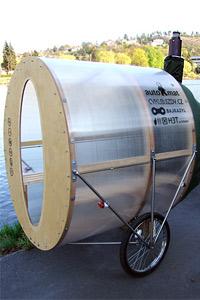 Мобилна сауна на велосипед