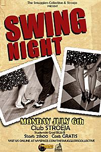 Суинг вечер на 6-ти юли в клуб