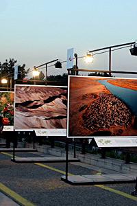 """Фотоизложбата """"Земята отвисоко"""" бе открита с еко коктейл"""
