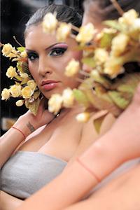 Мис плеймейт златка Димитрова засне първата си  ТВ реклама